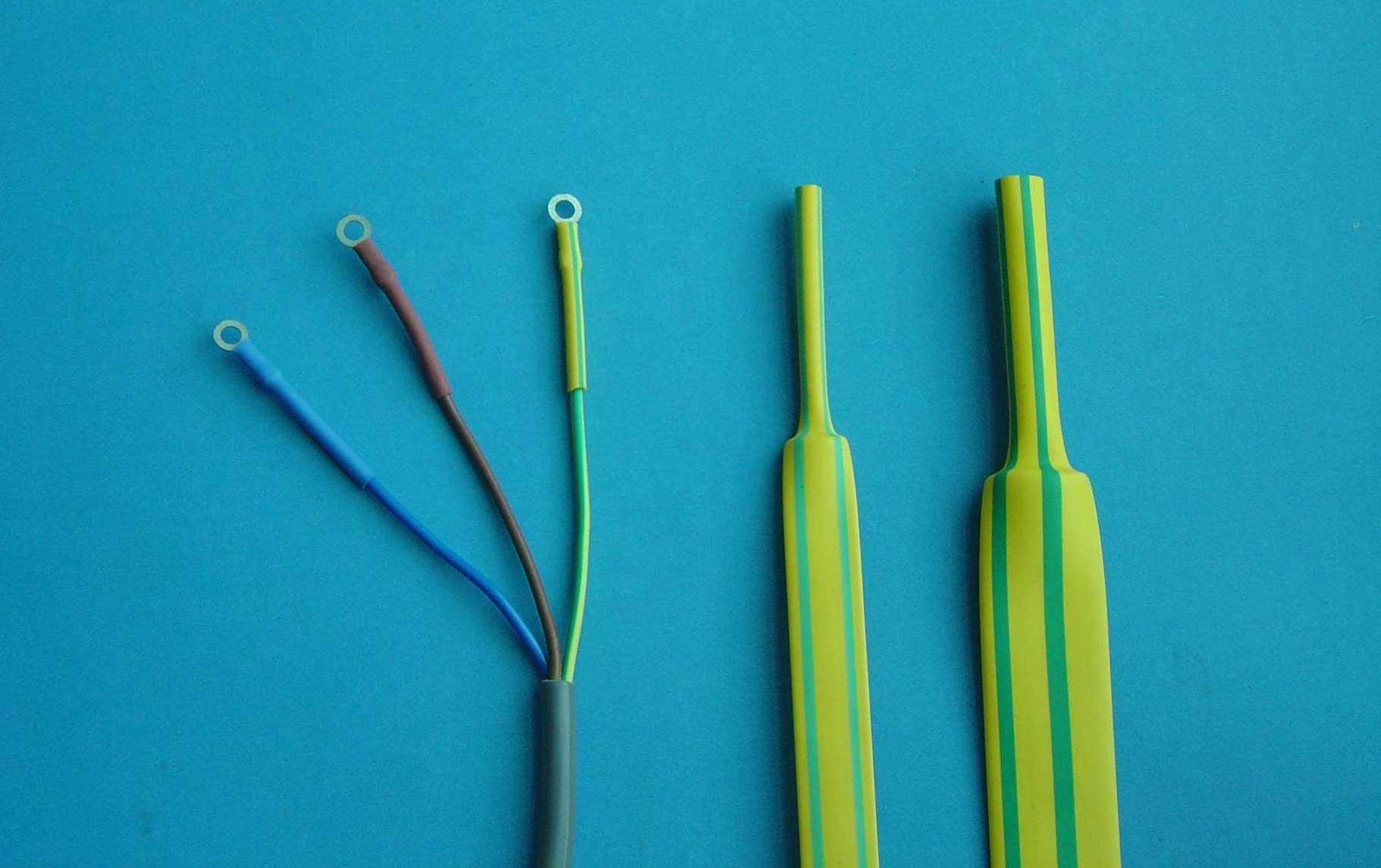 黄绿热收缩管的用途
