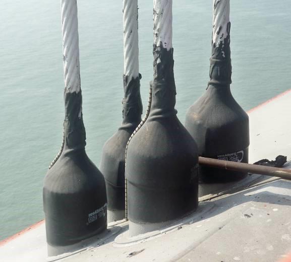 UCSM-B斜张桥钢缆护套
