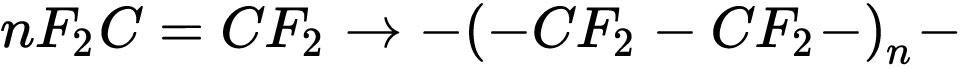 聚四氟乙烯分子式