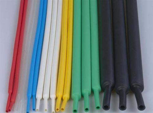 颜色多样的热缩管