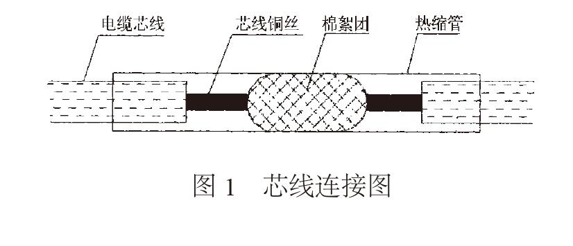 图1  芯线连接图