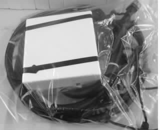 图14  电器盒的泡沫特殊包装防护
